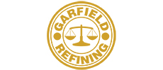 Garfield Refining logo linking to site